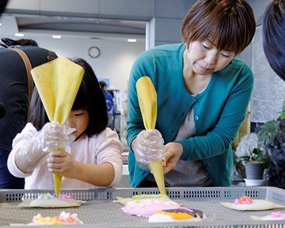 蒲鉾作り体験 体験中写真