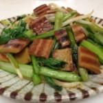 さきかまカレー味と野菜のごま油炒め 完成
