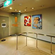 尾崎かまぼこ館 作品展示写真